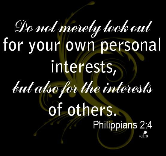 Philippians2:4